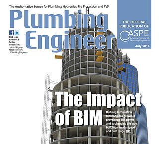 View: BIM Means Business - The Impact of BIM - Plumbing Engineer Magazine - American Society of Plumbing Engineers ASPE - Badley BIM Article July 2014