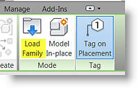 Load Revit Family Into Project From INSERT Tab