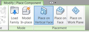 Revit has 3 Options for Loading Face-Based Families