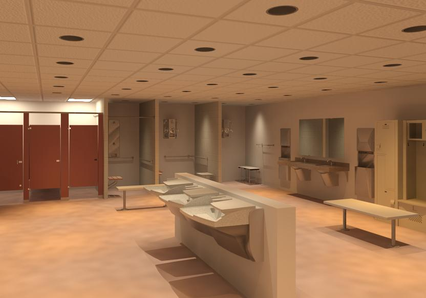 Bradley Advocate AV-90 Series Lavatory - Locker Room Products Revit Models