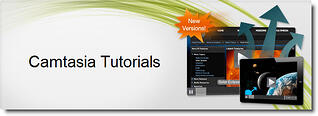 View Camtasia Tutorials from TechSmith