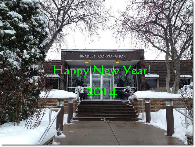 Bradley Corporation and The Bradley BIM Initiative; we wish you a Happy and Prosperous New Year 2014.