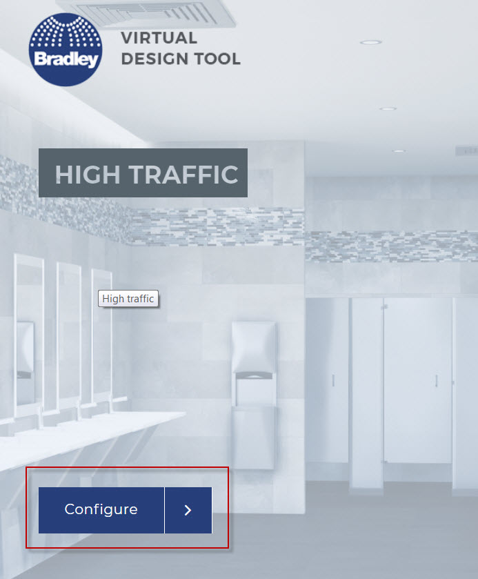 Bradley Virtual Design Center   Select and Configure Environment with Product Models and Materials