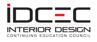 IDCEC | Interior Design Continuing Education Council