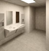 Women Toilet Room | Bradley Frequency Lavatory Systems | ADA Compliant