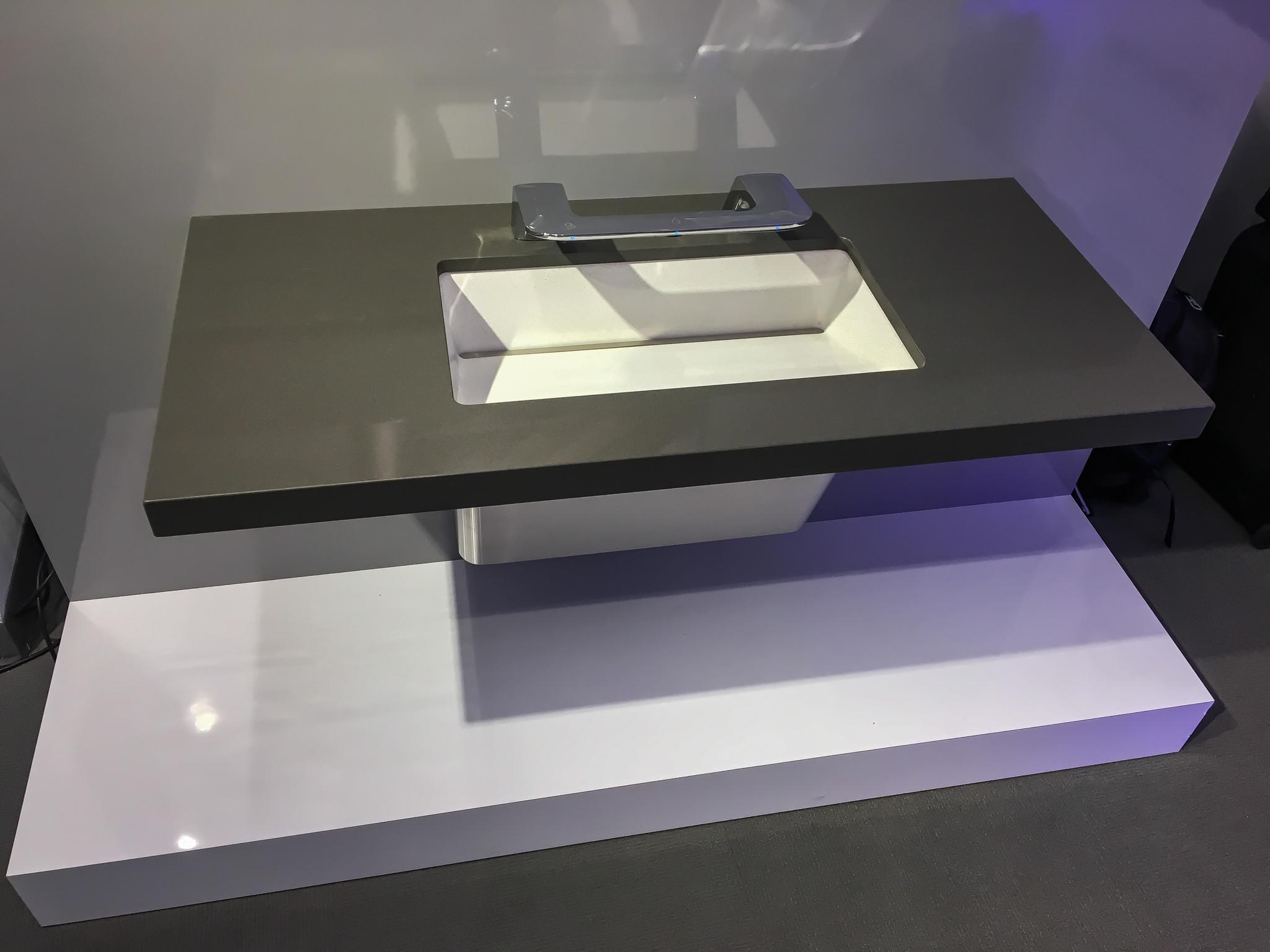 Bradley WashBar LD5010 Lavatory-Sink System Providing Enhanced Reach